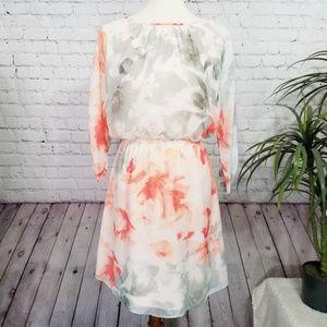 Vince Camuto Floral Cold Shoulder Dress | 2